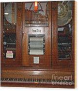 Nostalgic Wurlitzer Player Piano . 7d14400 Wood Print
