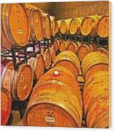 Nothing To Wine About Wood Print