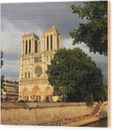 Notre Dame De Paris 2 Wood Print