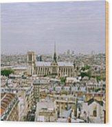 Notre Dame In Paris Wood Print