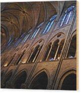 Notre Dame Interior Wood Print