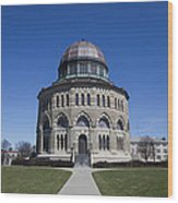 Nott Memorial Building At Union College Wood Print