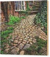 Nottingham Bridge Footpath Wood Print