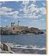 Nubble Light II Wood Print