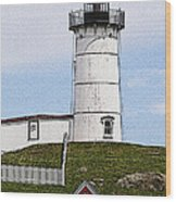 Nubble Lighthouse- Canvas Wood Print