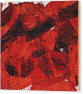 Nuclear Anialation Wood Print