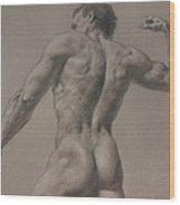 Nude - 8 A Wood Print