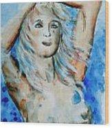 Nude 08 Wood Print