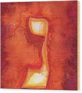 Nun Wood Print