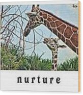 Nurture Wood Print