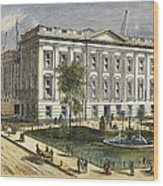 Ny County Courthouse Wood Print