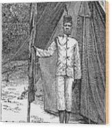 Nyasaland: Consular Staff Wood Print