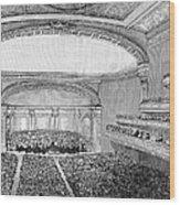 Nyc: Carnegie Hall, 1891 Wood Print