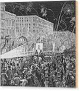 Nyc: Democrat Parade, 1876 Wood Print by Granger