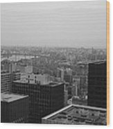Nyc From The Top 2 Wood Print
