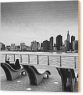Nyc Relax Wood Print
