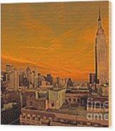 Nyc Skyline Wood Print