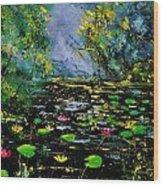 Nympheas 561170 Wood Print