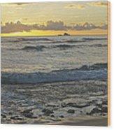 Oahu Morning 6835 Wood Print