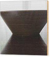 Oak Bowl Two Wood Print