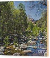 Oak Creek Wood Print