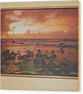 Oak Floater Frame Wood Print