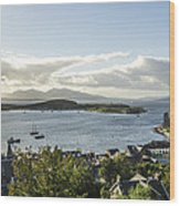 Oban Bay View Wood Print
