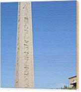 Obelisk Of Theodosius Wood Print
