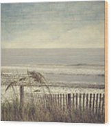 Ocean Breeze Wood Print by Kathy Jennings
