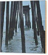 Ocean City 59th Street Pier Wood Print
