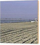 Ocean City Nj The Old Pier Wood Print