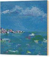 Ocean Delight Wood Print