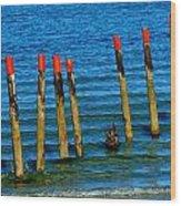 Ocean Eleven Wood Print