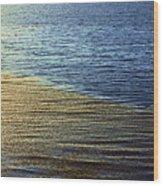 Ocean Spring Wood Print by Viktor Savchenko