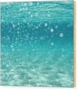 Ocean Wood Print by Stelios Kleanthous