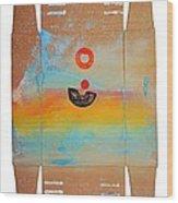 Ocean Swell Wood Print