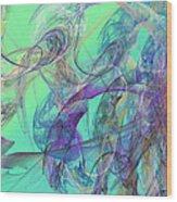 Ocean Symphony II Wood Print
