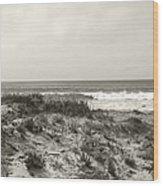 Ocean Wave View Wood Print