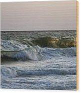 Ocean Waves Wood Print