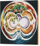 Oceana Orb Wood Print