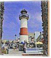 Oceanside Lighthouse Wood Print