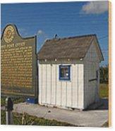 Ochopee Post Office Wood Print