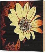 October Jewel Wood Print