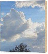 October's Cloud Illumination 2012 Wood Print
