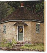 Odd Little House Wood Print
