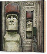 Odd Man Out Wood Print by Suni Roveto