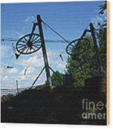 Oe Lift Wood Print