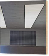 Office Ceiling Wood Print