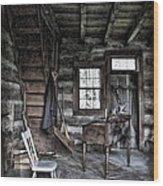 Ohio Cabin Wood Print