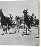 Ohio: Horse Race, 1904 Wood Print